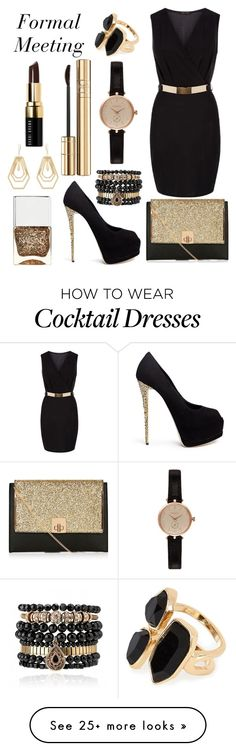 """Formal Meeting"" by cassiewulf on Polyvore featuring Giuseppe Zanotti, Barbour, Samantha Wills, Dolce&Gabbana, Nails Inc., Kara by Kara Ross, River Island and Bobbi Brown Cosmetics"