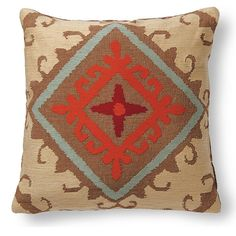 Ari Throw Pillows - I like these for the living room