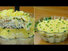 Tuňákový salát - tajný recept, připravujte ho bez svědků :)| Chutný TV - YouTube My Recipes, Cooking Recipes, Russian Recipes, Crepes, Guacamole, Quiche, Entrees, Sushi, Seafood