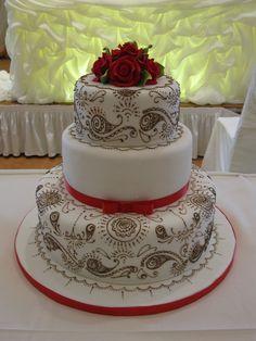 indian wedding cakes | Indian Mehndi Cake — Round Wedding Cakes