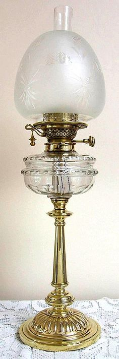 Banquet lamp with self extinguishing duplex burner