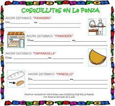 CoSqUiLLiTaS eN La PaNzA BLoGs: FAMILIA DE PALABRAS CON ACTIVIDADES