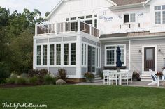 The latest sunroom update focusing on all the outside details.