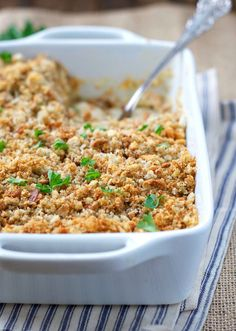 Chicken and Stuffing Casserole - The Seasoned Mom