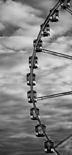 round & round. #blackandwhite #photography #clouds #sky