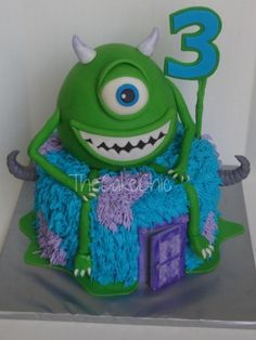 cakes for kids top cakes cake central more vanilla cake monsters cake ...