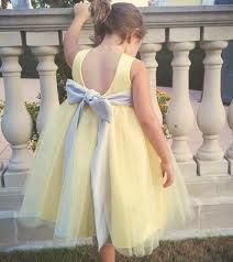 Grey and yellow flower girl dress ... Love the big gray bow with a yellow tutu skirt