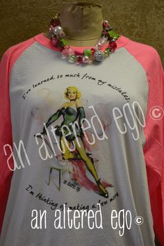 I've Learned So Much From My Mistakes, I'm Thinking Of Making A Few More raglan t-shirt from An Altered Ego