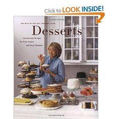Martha Stewart Desserts