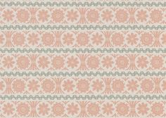 This St Judes fabric is 100% Linen with a pattern repeat of 16cm, it is screen printed here in the UK and is available in 4 colourways #thenaturalcurtaincompany #fabric