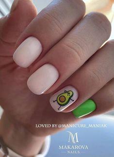 Shellac Nail Designs, Nail Art Designs, Cute Nails, Pretty Nails, Summer Acrylic Nails, Summer Nails, Beige Nails, Pointed Nails, Glitter Gel Nails