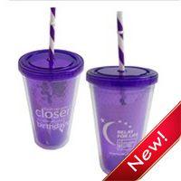 #RelayforLife Birthday Straw Cup; $3.79