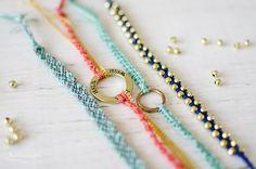 handmade wish bracelets by kofaragozsuzsiphotos  www.facebook.com/kofaragozsuzsiphotos
