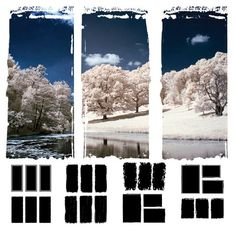 photoshop marcos para trípticos