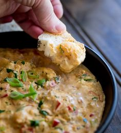 Succulent juicy shrimp, cooked with traditional creole flavours and luscious creamy cheese and cream. This Hot Louisiana Shrimp Dip is delicious and super simple to make. Perfect for Mardi Gras.