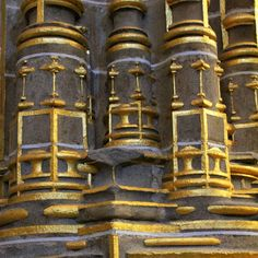 Beautiful #golden details at Plasencia's cathedral in Spain #architecture #design