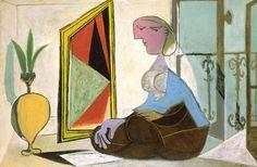 Picasso, Femme au Miroir