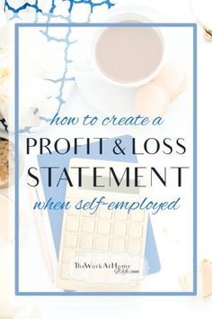 business finance How to Do a Profit and Loss Statement for Your Work-at-Home Business (and Why Its Important) Home Party Business, Craft Business, Home Based Business, Creative Business, Business Planning, Business Tips, Online Business, Business Essentials, Business Management