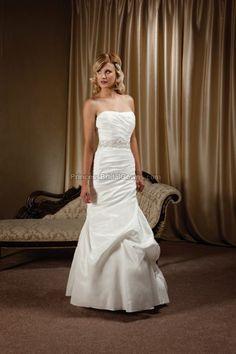 Mia Solano M1207L - Wedding Dress M1207L. View more online at www.PrincessBridalGowns.com.