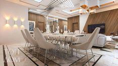 Dining room design in a contemporary style by TopDom / Дизайн интерьера столовой в современном стиле #diningroom #diningroomideas #diningroomdecor #interiors