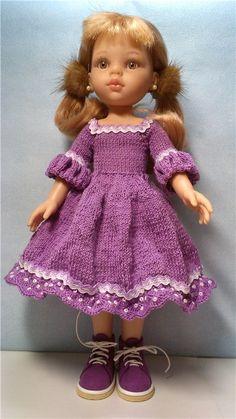 Платье для кукол Паола Рейна. / Одежда для кукол / Шопик. Продать купить куклу / Бэйбики. Куклы фото. Одежда для кукол