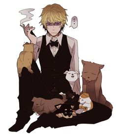 durarara, drrr, and anime image Anime Demon Boy, Hot Anime Boy, Anime Boys, Anime Angel, Izaya Orihara, Shizaya, Durarara, Kaichou Wa Maid Sama, Handsome Anime Guys