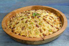 Couscous sucré : ''mesfouf'' : Le Masfouf est un plat spécifique du mois de Ramadan, mais on peut le consommer à longueur d'année avec les fruits de saison.