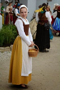 17th century peasant fashion - Google Search