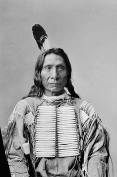 Charles Milton Bell, Red Cloud in Native Dress with Breastplate, 1880