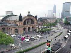 Hauptbahnhof, Frankfurt, Germany, where we lived. Life Is An Adventure, Adventure Travel, Pictures Of Germany, Frankfurt Germany, Famous Castles, France, London, Wonders Of The World, Beautiful Places