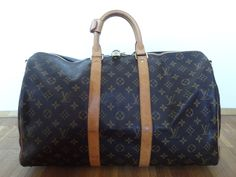 :-) Louis Vuitton Keepall 55 HappyFace313 :-)