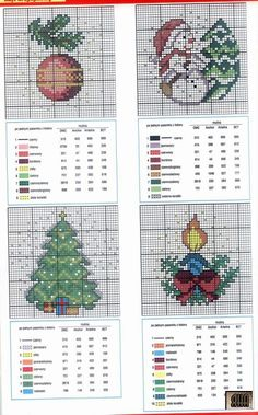 Designs for Cards • p/4 – replace the dots with seed beads in appropriate colours