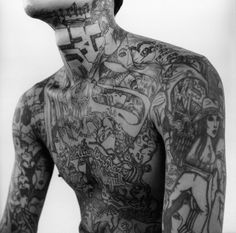 Body Tattoo - http://tattooeve.com/serious-stuff-about-full-body-tattoo/