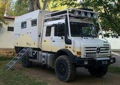 Unimog camper.