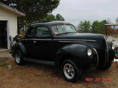 Ford :  Coupe Deluxe 1939 Ford Coupe - http://www.usabarnfinds.com/archives/663