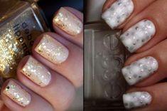 60 Winter Wedding Nails Art Inspiration (1)