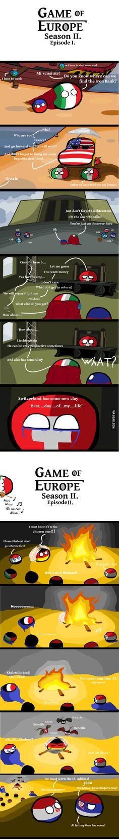 Game of Europe Season II.