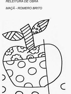 R sultat de recherche d 39 images pour britto coloriage bricolage enfant art plastique - Coloriage fleur britto ...