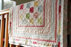 ABC quilt by Nana Company .. gorgeous