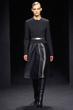 love the shapes! so clean. Calvin Klein Fall 2012