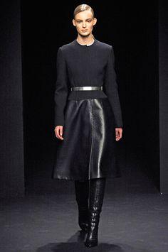love the shapes! so clean. Calvin Klein Fall 2012
