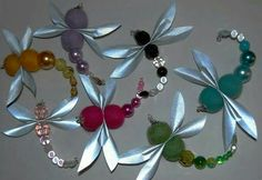 Felt Crafts, Diy And Crafts, Arts And Crafts, Projects For Kids, Diy For Kids, Dragon Fly Craft, Dragonfly Art, At Home Workout Plan, Textile Jewelry