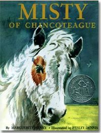 Misty of Chincoteague by Marguerite Henry.