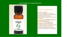 Citronella oil uses: good for muscles and effective remedy for the spasms produce chemicals for perfumes Citronella Oil Uses, Citronella Essential Oil, Cooking With Essential Oils, Essential Oil Uses, Oily Hair, Flu, Natural Oils, Fungi, Muscles
