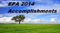 The EPA Lists its 2014 Environmental Accomplishments : The U.S. Environmental…