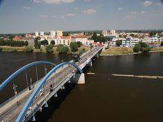 Slubice, Poland - crossed this bridge many times in the course of a month. Frankfurt, Travel Around The World, Around The Worlds, Before I Die, Poland, Places Ive Been, Bridge, To Go, Bucket