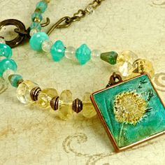 'Make a Wish' necklace designed by Cherrie Fick of En La Lumiere on Etsy http://www.designsinthelight.co.