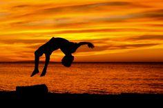 Dancing Silhouette by kyn[o], via Flickr