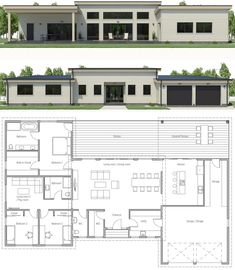 Texture Architecture, Plans Architecture, Architecture Building Design, Facade Design, Architecture Details, Small Modern House Plans, New House Plans, Dream House Plans, House Floor Plans