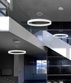Circular Ring LED Pendant - 3 Sizes